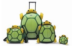 Samsonite Turtle Luggage - I pinned this for munchkins but honestly.I would travel with this Turtle Homes, Cute Turtles, Sea Turtles, Gadgets, Tortoise Turtle, Tortoises, Cool Tools, Deco, Arts And Crafts