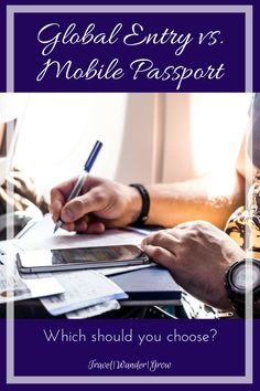 Mobile Passport is a lesser-known benefit that travelers can use to speed up the customs process upon arrival in the U.S. There are a few considerations to keep in mind when deciding on Mobile Passport vs. Global Entry, and I will walk you through those in this post. #globalentry #mobilepassport #travelhack #traveltips