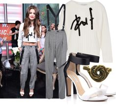 """Selena Gomez at New.Music.Live 2013"" by annamari-a on Polyvore"