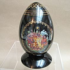 Russian Porcelain Egg