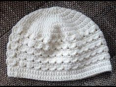 Baby Knitting Patterns Beanie Crochet pattern for a children& cap with shell pattern for a head circumference of . Easy Crochet Hat, Bonnet Crochet, Crochet Beanie, Crochet For Kids, Crochet Yarn, Crochet Hooks, Knitted Hats, Baby Knitting Patterns, Crochet Patterns