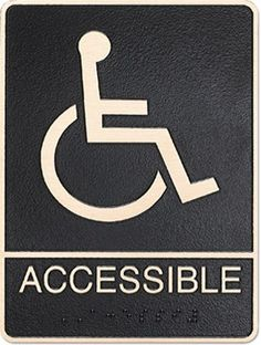 ADA metal signs are used everyday for hundreds of different applications. ADA compliant plaques feature braille for those with sight impairments.  Advantage Signs & Graphics is an ADA signage expert, and you can buy with confidence knowing ASG will provide you with 100% ADA compliant plaque.