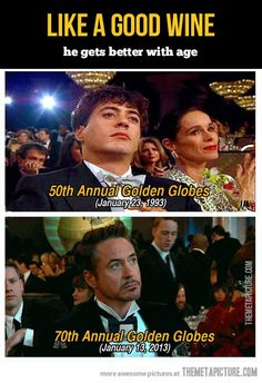 Oh, Mr. Robert Downey Jr.