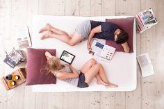 Matratzen kostenlos probeliegen - Wie das geht? #Bett #Tipp #Wohnen