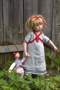 poupée de collection Leenie - 65 cm Nicole Marschollek-Menzner Quirao idées cadeaux