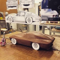 60's #Corvette #StingRay #clay model #automotivedesign #cardesign #automotive #transportationdesign #transportdesign #claymodel #workshop #design #designsa #southafricansinspain #southafricandesigners #cardesigncommunity