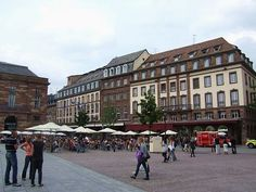 Place Kléber in Strasbourg, #France #beautifulplaces