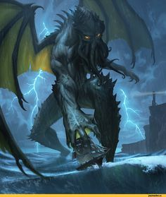 Лавкрафт-Lovecraft-art-ктулху-2297356.jpeg (811×960)
