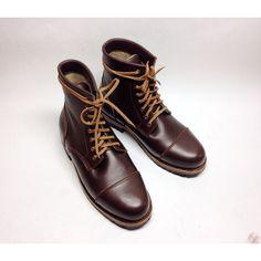 Masuka 2817 captoe boots by Ishkzia Shoemaker