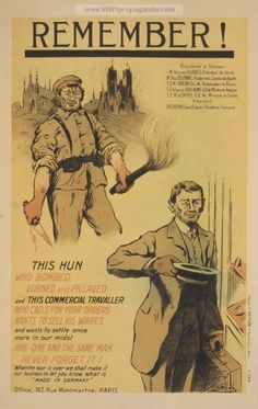 Examples of Propaganda from WW1 | French WW1 Propaganda Posters Page 4