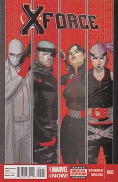 X-Force # 5 Marvel Now! Vol. 4 Marvel Now, Marvel Comics, X Force, X Men, Cover Art, Artist, Suit, Artists, Formal Suits