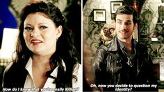 "#OnceUponATime 4x16 ""Poor Unfortunate Soul"" - Belle and Killian"