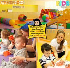 Gymboree'de 0-2 yaş için Play Learn 1 -2, Müzik ve Sanat Aktiviteleri 12 Ders 1.200 TL Kidsfoni Üyelerine Özel +2 Ders HEDİYE! Bebeğimiz sanatla büyüsün diye!  Satın almak için hemen kidsfoni.com'a tıklayın!