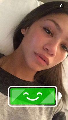 Zendaya on snapchat 11/2/15