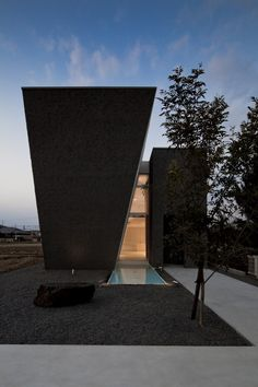 Image 17 of 22 from gallery of Ginan / Keitaro Muto Architects. Courtesy of Keitaro Muto Architects Houses Architecture, Architecture Résidentielle, Amazing Architecture, Contemporary Architecture, Installation Architecture, Exterior Design, Interior And Exterior, Interior Garden, Architects Journal