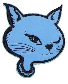 Gorgeous blue kitty patch available right here -} http://bumpandbunny.com/products/blue-kitty-patch