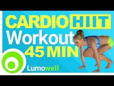 45 Minute Cardio HIIT Workout to Lose Weight Fast | Home Fitness - YouTube