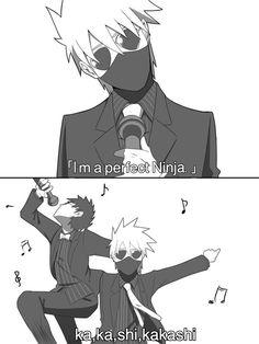 OH MY GAUD  I Just can't stop laughing  Kakashi as Nakata, Obito as Fujimori from Oriental Radio