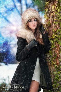 winter fashion shoot by iancu cristi, via 500px