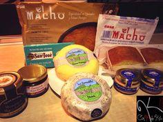 Selección de algunos productos muy ricos de Cantabria.