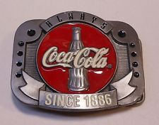 "Vintage Coca Cola 1997 ""Always Coca Cola"" Belt Buckle"