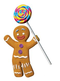 Gingerbread Man - WikiShrek - The wiki all about Shrek Gingerbread Man Shrek, Gingerbread Man Drawing, Gingerbread Cookies, Shrek Drawing, Kawaii, Shrek Character, Pixar, Le Clown, Dreamworks Animation