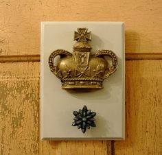 Crown and Jewel Wall Hook