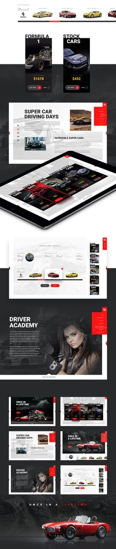 The Racing School Template is our first venture into template design. We wanted to have fun and make something high end with clean images. This template is for sale. Please contact us at info@jablonskimarketing.com if you are interested in purchasing it.