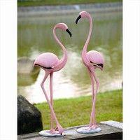 Wish | SPI Home 33349 Pink Flamingo Pair
