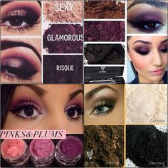Younique is SO MUCH MORE than mascara! Here are some BEAUTIFUL eye looks using Moodstruck Mineral Pigments! These are perfect for you Valentine date, or any other daytime/nighttime look! Highly pigmented and last all day!
