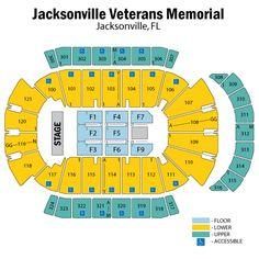 52 best jacksonville veterans memorial arena images veterans