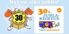 Fröbelin palikoitten 30 v juhlakiertue Joensuussa!    Konsertti kestää noin 50-60 min saliin pääsee noin 30 min ennen keikan alkua.  Konsertissa myös fanituote myyntiä!  Alle 1 v lapset ilmainen sisäänpääsy.    Varmistathan pääsysi ostamalla liput ennakkoon lippu.fi palvelusta.      Jos konsertti ei ole loppuunmyyty, lippuja voi ostaa myös ovelta