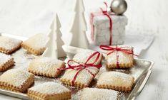 Fruchtige Weihnachtsplätzchen mit einer Rumnote Rice Krispie Treats, Rice Krispies, Cookie Recipes, Bakery, Food And Drink, Favorite Recipes, Cookies, Desserts, Christmas