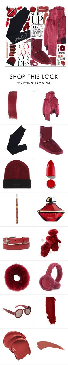 """Untitled #136"" by biinabnab ❤ liked on Polyvore featuring Gucci, Balenciaga, Wolford, Dr. Martens, Rodin, Guerlain, New Directions, Mark & Graham, Mr & Mrs Italy and UGG"