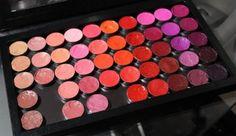DIY Lipstick Palette Using a Z Palette