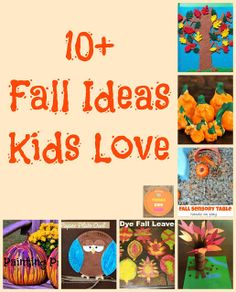 10+  Fall Ideas Kids Love by FSPDT