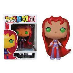 Teen Titans Go! Starfire Pop! Vinyl Figure | via entertainmentearth.com