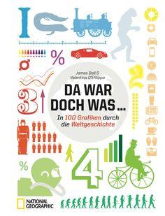"""Geschichtsunterricht einmal anders! Das Buch """"Da war doch was"""" reist in 100 Infografiken durch die Weltgeschichte und klärt dabei alle möglichen und unmöglichen Fragen. An Gesprächsstoff wird es unterm Weihnachtsbaum damit sicherlich nicht mangeln."""
