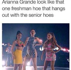 Can't stand Ariana grande