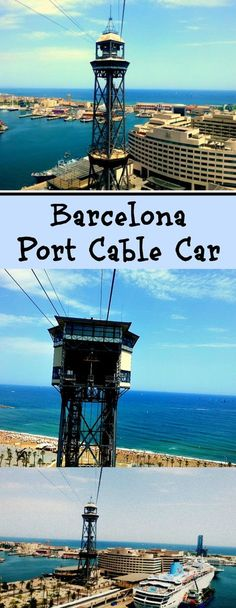 Barcelona port cable car provides amazing views of Barcelona. . . | Barcelona cable car | Things to do in Barcelona | Barcelona with kids | How much does the Barcelona cable car cost. | Teleferico Barcelona | Port of Barcelona attractions | Things to see in Barcelona | Barcelona attractrions |
