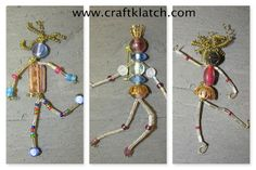 How to Make Bead People Craft Tutorial