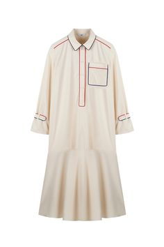 White Outfits, Simple Outfits, Kpop Outfits, Fashion Outfits, Moslem Fashion, Dress Design Sketches, Oversized Shirt Dress, Fashion Project, Kurta Designs
