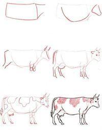 Cómo Aprender a Dibujar Vacas.