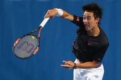 Kei Nishikori Photos - Australian Open: Previews - Zimbio