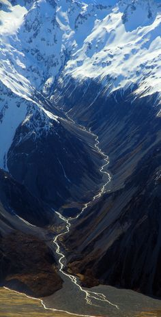 Southern Alps, New Zealand.