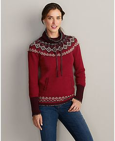 Echo Ridge Pullover Sweater | Eddie Bauer