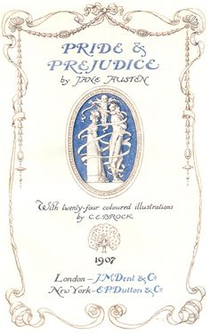 """Pride and Prejudice"" by Jane Austen"