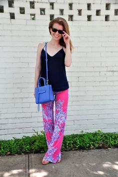 Design Darling | Lilly coral pants