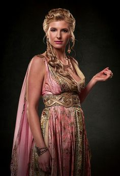 A seriously fictional (and very beautiful) take on ancient Roman dress.
