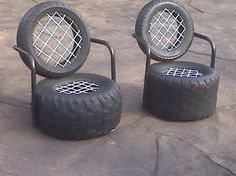 Tire chair                                                                                                                                                                                 Mais